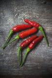 Pimentas quentes do pimentão Fotografia de Stock Royalty Free