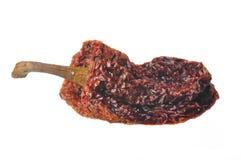 Pimentas quentes secadas Imagem de Stock Royalty Free