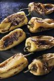 Pimentas Roasted Imagens de Stock