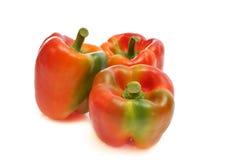 Pimentas vermelhas Fotografia de Stock