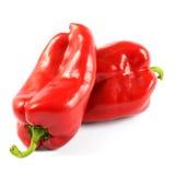 Pimentas vermelhas Fotos de Stock Royalty Free