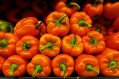 Pimentas vermelhas foto de stock