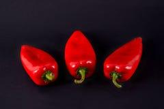 Pimentas vermelhas Ajvar Imagem de Stock
