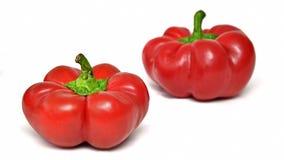 Pimentas vermelhas doces Fotografia de Stock Royalty Free