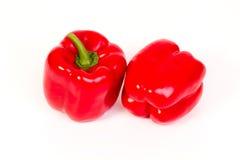 Pimentas vermelhas doces Foto de Stock Royalty Free