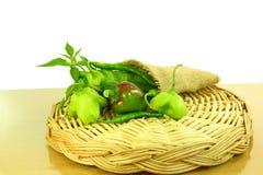 Pimentos de pimentão frescos Imagens de Stock