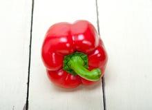 Pimentos de sino vermelhos frescos Foto de Stock
