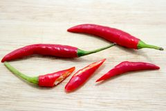 Piments rouges Photographie stock