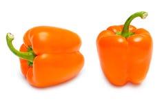 Pimienta anaranjada Imágenes de archivo libres de regalías