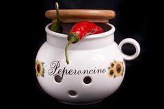 Pimienta caliente Foto de archivo libre de regalías