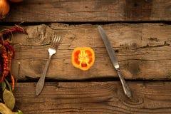 Pimienta como sorce de vitaminas Fotografía de archivo