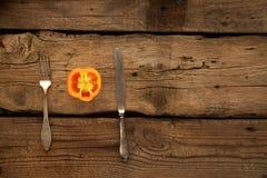Pimienta como sorce de vitaminas Foto de archivo libre de regalías