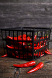 Pimienta de cayena Foto de archivo libre de regalías