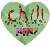 Pimienta de chile Imagen de archivo libre de regalías