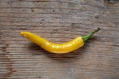 Pimienta de chile amarilla fotografía de archivo