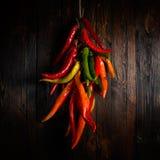 Pimienta de chile caliente Imagenes de archivo