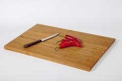 Pimienta de chile rojo fresca Foto de archivo libre de regalías