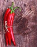 Pimienta de chiles rojos Foto de archivo