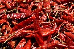 Pimienta de chiles rojos Foto de archivo libre de regalías