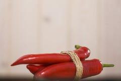 Pimienta de la vaina con gusto picante Fotos de archivo libres de regalías