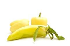 Pimienta dulce amarilla Fotografía de archivo