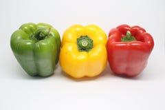 Pimienta dulce colorida Imagen de archivo libre de regalías