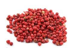 Pimienta orgánica roja Imagen de archivo