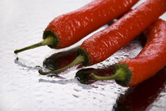 Pimienta roja Fotografía de archivo