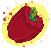 Pimienta roja dulce Imagen de archivo