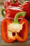 Pimienta roja fresca Foto de archivo