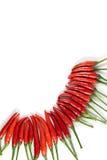 Pimienta roja fresca Fotografía de archivo libre de regalías