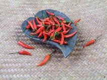 Pimienta roja picante Imágenes de archivo libres de regalías