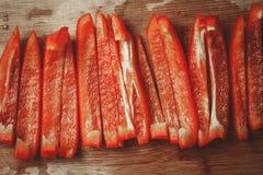 Pimienta tajada Imagen de archivo libre de regalías