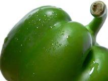 Pimienta verde #4 Foto de archivo