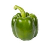 Pimienta verde fresca Foto de archivo libre de regalías