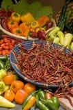 Pimientas de chile Imagenes de archivo