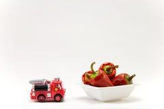 Pimientas de chile rojo foto de archivo libre de regalías