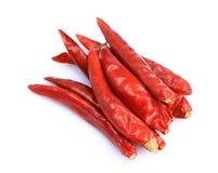 Pimientas de chile secadas Imagen de archivo libre de regalías