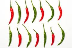 Pimientas de chiles Foto de archivo