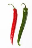 Pimientas de chiles Fotografía de archivo libre de regalías