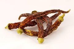 Pimientas de chiles secadas Fotos de archivo