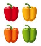Pimientas dulces Stock de ilustración