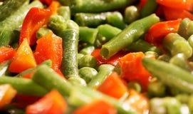 pimientas, espárrago, cocinero Imagen de archivo libre de regalías