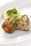 Dolmasi de Biber, comida turca Fotos de archivo libres de regalías