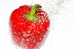 Pimientas rojas. Imagen de archivo