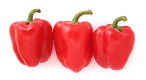 Pimientas rojas Imagen de archivo libre de regalías