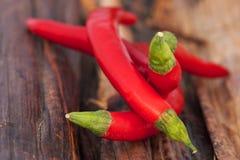 Pimientas rojas Fotos de archivo