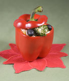 Pimientas rojas fotografía de archivo libre de regalías