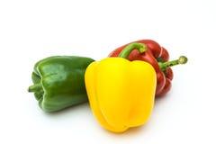 Pimientas, rojo, amarillo, naranja, verde Fotografía de archivo libre de regalías
