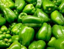 Pimientas verdes Foto de archivo libre de regalías